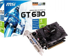 MSI NVIDIA N630-4GD3 Price in India
